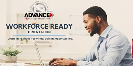 Workforce Ready Virtual Orientation tickets