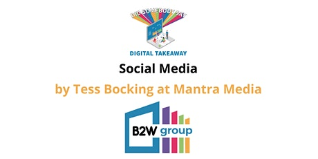 Social Media Masterclass  - Tess Bocking (Industry Expert) tickets
