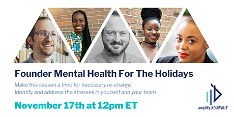 Founder Mental Health For The Holidays tickets