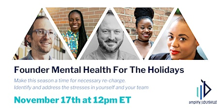 Founder Mental Health For The Holidays biglietti