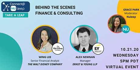 Behind the Scenes: Finance & Consulting Connect@Nuleep Event tickets