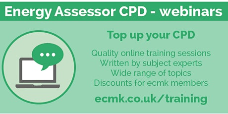 CPD - 1 Hour - Measuring and Modelling tickets