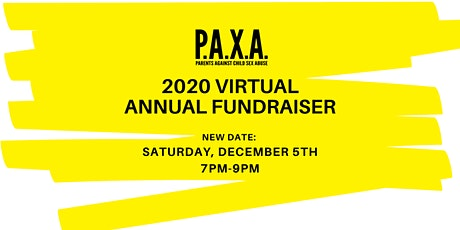 2020 P.A.X.A. Virtual Annual Fundraiser with Wine Tasting tickets