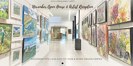 November Open House & Artist Reception tickets