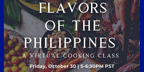 E-Culinary Diplomacy: Flavors of the Philippines tickets