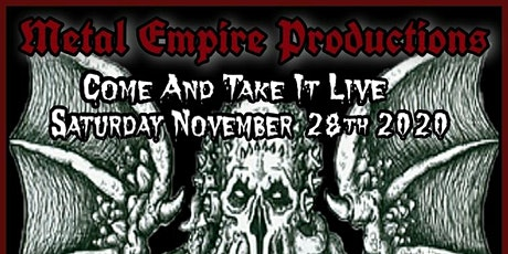 MISS METAL EMPIRE'S BRUTAL B-DAY BASH
