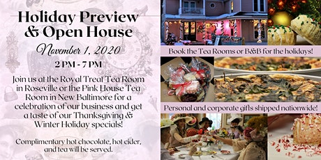 Nov. 1 Holiday Preview & Open House tickets