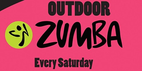 OUTDOOR ZUMBA PARTY - Every Saturday tickets