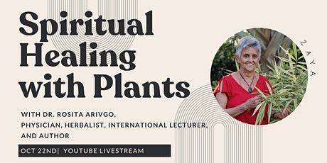 Spiritual Healing with Plants tickets