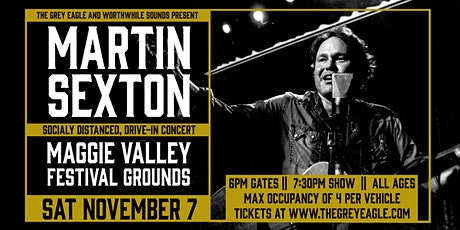 Martin Sexton: Drive-In Concert at Maggie Valley Festival Grounds tickets