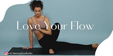 Flow Yoga (aktyvi jogos praktika mobilumui ir lankstumui lavinti) tickets