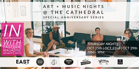 ART + MUSIC NIGHTS  AT THE CATHEDRAL tickets