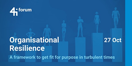Organisational Resilience tickets
