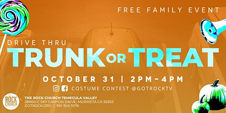 Drive Thru Trunk or Treat tickets