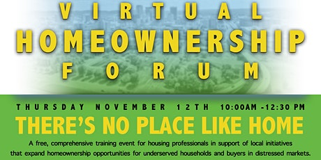 Virtual Homeownership Forum tickets
