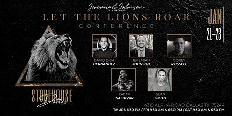 Let the Lions Roar Conference tickets