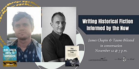 James Chapin & Tauno Biltsted in conversation tickets