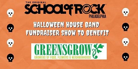 School of Rock Philly Halloween Fundraiser Show for Greensgrow tickets