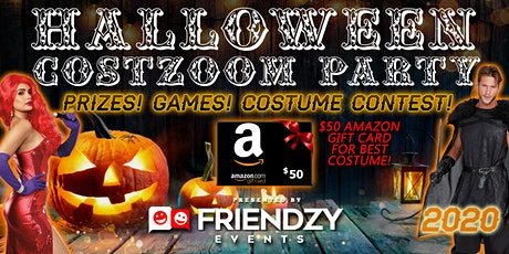 2020 Halloween Costzoom Party - Fun, Social Games, Prizes! tickets
