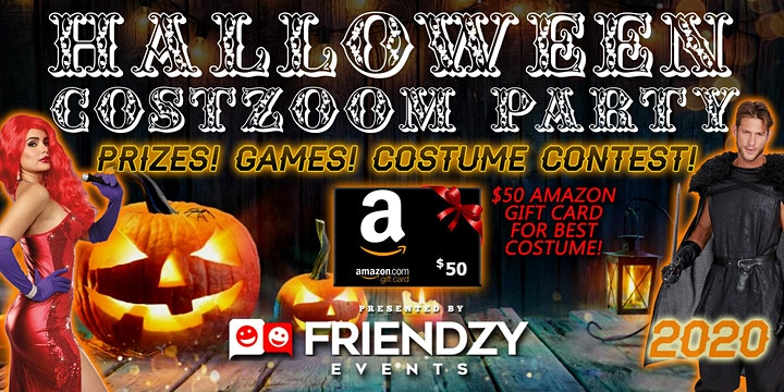 2021 Halloween Costzoom Party - Fun, Social Games, Prizes! image