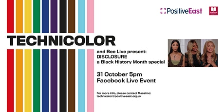 TECHNICOLOR Online and Bee Live present: Disclosure tickets
