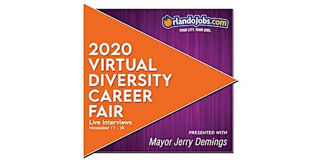 2020 Virtual Diversity Career Fair tickets