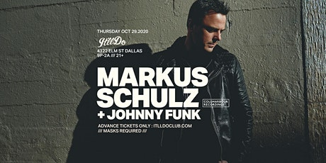 Markus Schulz at It'll Do Club tickets