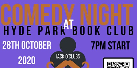 Jack O'Clubs Comedy Night at Hyde Park Book Club with Freddy Quinne tickets