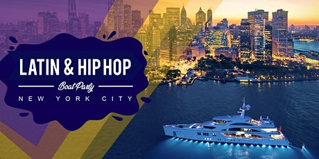 #1 New York City LATIN & HIP HOP BOAT PARTY YACHT CRUISE  Music & Cocktails