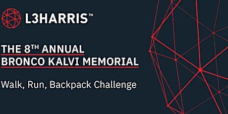 8th Annual Bronco Kalvi Memorial Walk/Run/Backpack Challenge tickets