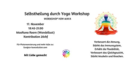 Selbstheilung durch Yoga