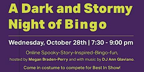 A Dark and Stormy Night of Bingo tickets