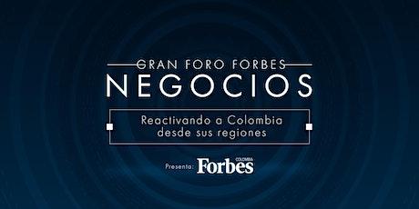 Gran foro Forbes de negocios - La reactivación de las regiones entradas
