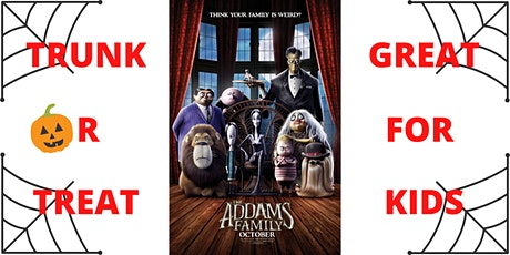 Trunk Or Treat + The Addams Family (2019) tickets