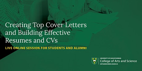 Creating Top Cover Letters and Building Effective Resumes and CVs tickets