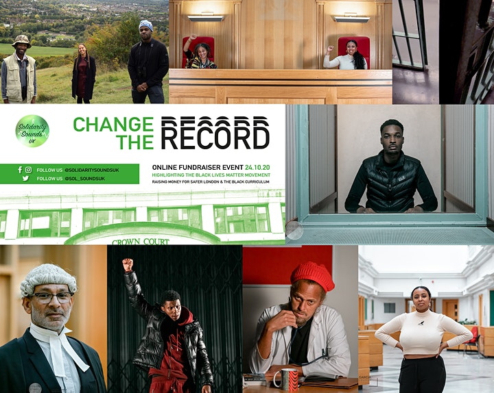 Solidarity Sounds UK presents: Change The Record, Online Fundraiser Event image
