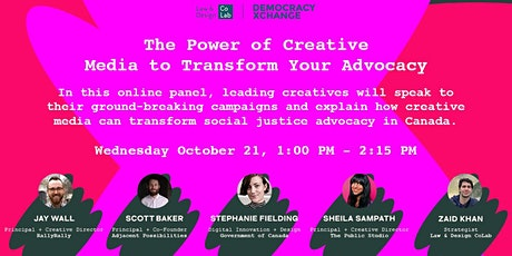 The Power of Creative Media to Transform Your Advocacy - DXC Festival tickets