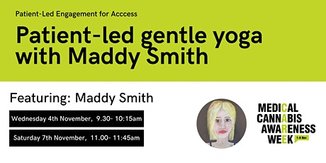 #MCAW2020: Patient-led gentle yoga with Maddy Smith tickets