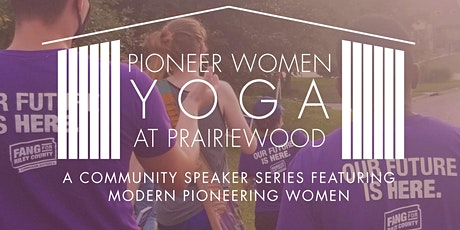 Pioneer Women Yoga at Prairiewood: Fanny Fang tickets