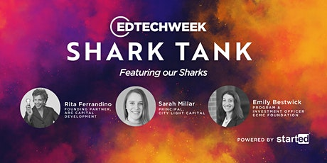 EDTECH WEEK October 2020 Shark Tank tickets