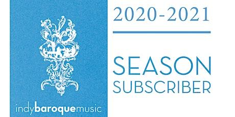 Season Subscription extended tickets