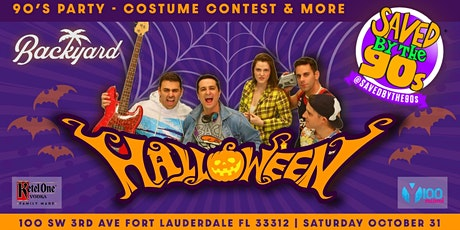 90's Halloween Party with Saved by the 90's tickets