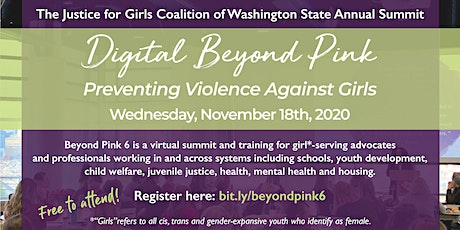 Beyond Pink: Preventing Violence Against Girls* tickets