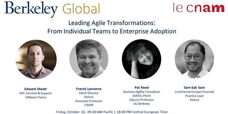 Leading Agile Transformations: From Individual Teams to Enterprise Adoption tickets
