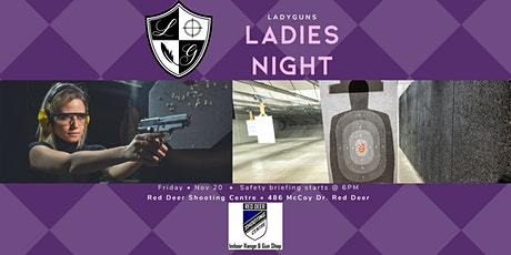 LadyGuns Ladies Night at Red Deer Shooting Centre tickets