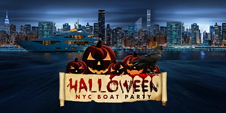 HALLOWEEN NYC LATIN & HIP HOP  BOAT PARTY CRUISE  VIEWS  COCKTAIL & MUSIC