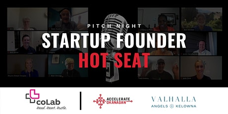 Startup Founder Hot Seat - Pitch Night (Virtual) tickets