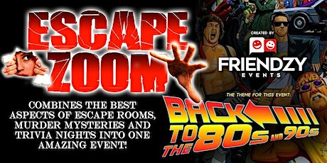 Escape Zoom! (Online Escape Room & Murder Mystery Event) tickets