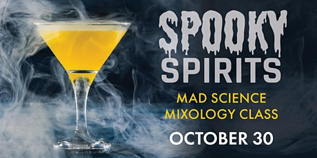 Mixology Class: Spooky Spirits tickets