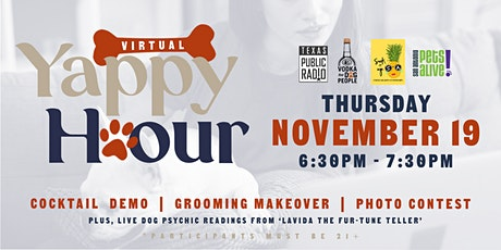 Virtual Yappy Hour tickets